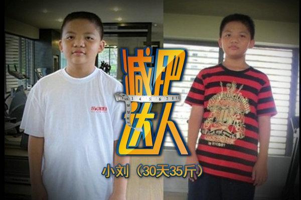 小刘减肥成功案例