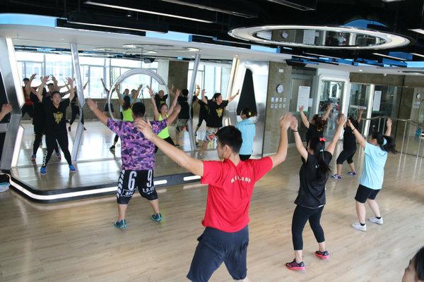 杭州减肥训练营训练课程