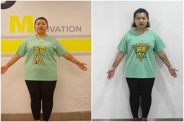 黄佳倩减肥成功案例