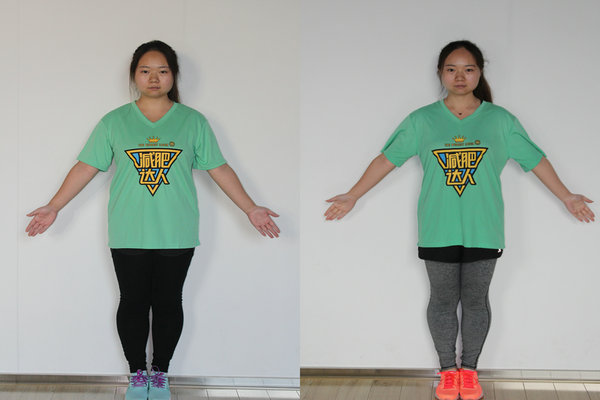 减肥达人李鑫成功案例
